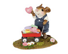 Wee Forest Folk LOADS OF LOVE WFF M 706b BOY Valentines Mouse