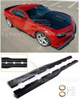 For 10 15 Camaro LT LS SS  ZL1 Style CARBON FIBER Side Skirts Rocker Panel Pair