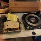 Zenith Turntable Amp replacement Precision Crafted In Britain 33 45 78 Console