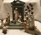 Demdaco Willow Tree Nativity 18 Piece Set By Susan Lordi AMAZING CONDITION