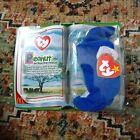Ty Beanie Babies Peanut the Royal Blue Elephant McDonaldsToy 2000 New in package