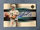 2005 Upper Deck Ultimate Collection Signatures 09 25 Dolohins *Rare*