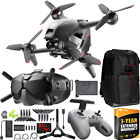 DJI FPV Combo Drone 4K Quadcopter with Goggles  Remote Control On The Go Bundle