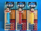 PAUL FRANK JULIUS THE MONKEY PEZ DISPENSERS VERY RARE HTF! COMPLETE SET IN BOXES