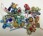 LOt GLASS Beads Lampwork Crafts Jewelry Making Crafts Wine Markers