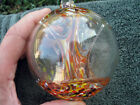 Colorful Splatter Art Glass Witchball Fairy Orb Witch Friendship Ball Ornament