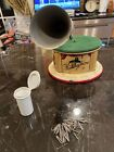 Kiddyphone Tin Lithographed Toy Gramophone Phonograph Made In Germany 1920s