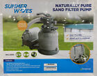 Summer Waves Polygroup 1400 GPH Pool 10 Sand Filter Pump BRAND NEW SEALED