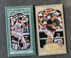 2012 Topps Gypsy Queen Variation Short Prints Checklist and Visual Guide 71