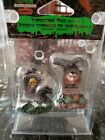 Lemax Spooky Town Halloween Graveyard Tombstone Pair 04169 Rare and Retired