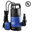 3432GPH Submersible Pump Clean Dirty Water Sump Pump 1HP Swimming Pool Pond 750W