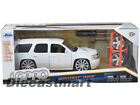 JADA LOPRO 124 2010 CHEVY TAHOE NEW DIECAST MODEL COLLECTION KIT WHITE