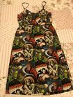 Paper Doll Productions RARE Monsters Rockabilly Psychobilly Dress M