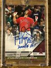 2018 Topps Now #170A Albert Pujols Auto Autograph Los Angeles Angels 40 99