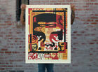 COLLAGE ICON TOP  LARGE FORMAT  SIGNED NUMBERED  OBEY  SHEPARD FAIREY