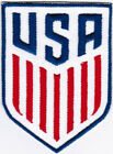 USA United States Mens National Soccer Team Badge Football Embroidered Patch