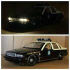 UT Models 1 18 Chevrolet Caprice Florida Police Car With Custom Lights Rare