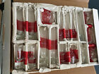Crate and Barrel Lot Of 17 4 7 i 2 In CLEAR GLASS BUD VASES