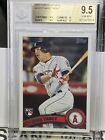 2011 Topps Update Mike Trout RC GEM MINT BGS 9.5 = TWO 10 SUBS Investment #US175
