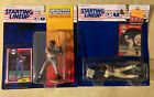 Lot Of 2, 1994 + 1995 STARTING LINEUP BARRY BONDS SAN FRANCISCO GIANTS