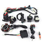 9PC Electric Wiring Harness 6Pole Magneto Stator For Go Kart GY6 125cc 150cc ATV