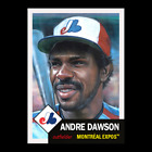 Andre Dawson Cards, Rookie Card and Autographed Memorabilia Guide 8