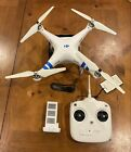 DJI Phantom 2 Drone Quadcopter w Battery Cable And Transmitter SEE DESCRIPTION