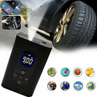 Portable Tire Inflator Car Air Pump Compressor Electric Bike Rechargeable Bank