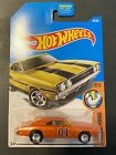 Hot Wheels 69 Dodge Charger 500 GENERAL LEE Custom Dukes of Hazzard Real Riders