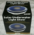 Swimming Pool Spa Solar Underwater Light Show LED Rechargeable