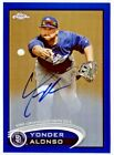2012 Topps Chrome Baseball Autograph Rookie Variations Visual Guide 50