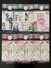 The Happy Planner Sticker Sheets Lot Of 6