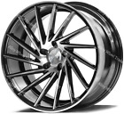 18 Bp ZX1 Alloy Wheels Fits Audi A4 A6 A8 TT RS Coupe Roadster Q2 Q3 Q5 5x112
