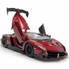 1 24 Scale Lamborghini Veneno Model Car Diecast Vehicle Toy Collectible Red Gift