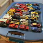 1970s Vintage Hot Wheels Lot Of 45 Loose Rare Truck Car Transport Ad Military