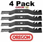4 Pack Oregon 98 671 Mower Blade Gator G3 fits Craftsman 742 04154 A 942 04154 A