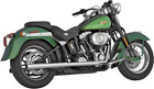 Vance  Hines Softail Duals Exhaust system chrome 16793