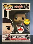 Funko POP! NHL #59 Capitals - Alex Ovechkin Stanley Cup CHASE - Canada EXCLUSIVE