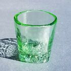 Excellent Condition  SIGNED  Celery On The Rocks Glass  Fire and Light