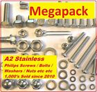 A2 Stainless Nut Bolt Screw Megapack Suzuki AP50 Sports Moped