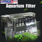 Hanging Fish Filter Aquarium External Filter Oil Film Remover Skimmer Tank Pump