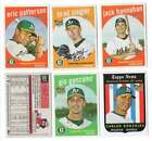 2008 Topps Heritage High Number Baseball Cards 19
