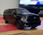 2014 RAM 1500 4x4 Quad Cab Police Undercover Pick Up Truck With Camper Shell