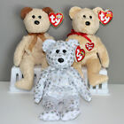 TY Beanie Babies (Set of 3 Bears - Huggy, The Beginning, Thank You)