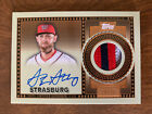 Over 10,000 Watch Strasburg Superfractor Auction Come To A Close 39