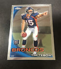 Tim Tebow Autographs Added to 2011 Topps Precision Football 11