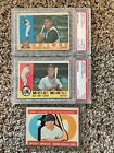 1960 Topps Baseball Complete Set w McCovey RC + Mantle and Others PSA