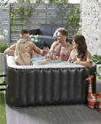 4 Person Inflatable Jacuzzi Hot Tub Spa Bubbles Square