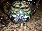 glass teapot lamp exc used cond 7 1 2 x 10 lovely accent pc