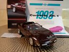 FRANKLIN MINT 1993 CORVETTE124RARE 40TH ANNIVERSARYNOSDOCSUNDISPLAYEDNEW